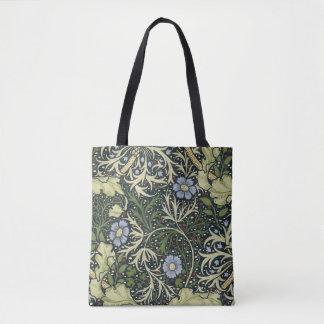 William Morris Seaweed Pattern Floral Vintage Art Tote Bag