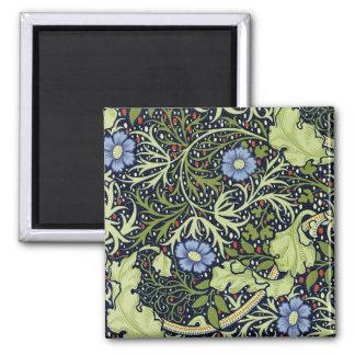 William Morris Seaweed Wallpaper Pattern Magnet