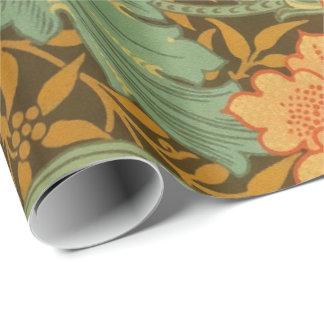 William Morris Single Stem Pattern Art Nouveau Wrapping Paper