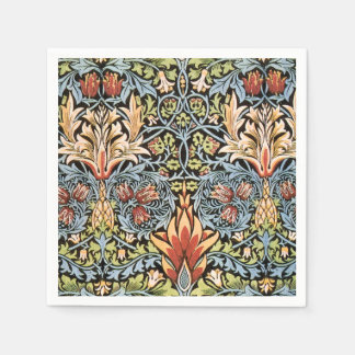 William Morris Snakeshead Design Disposable Napkins