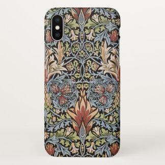 William Morris Snakeshead Vintage Art GalleryHD iPhone X Case