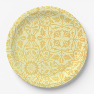 William Morris St. James Place Ceiling Paper 9 Inch Paper Plate