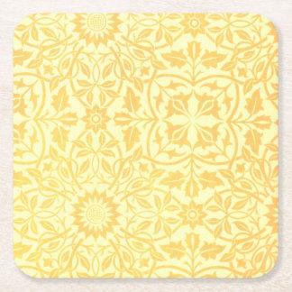 William Morris St. James Place Ceiling Paper Square Paper Coaster