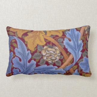 William Morris St. James Vintage Damask Lumbar Pillow