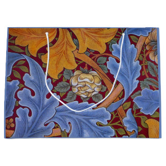 William Morris St. James Vintage Floral Design Large Gift Bag