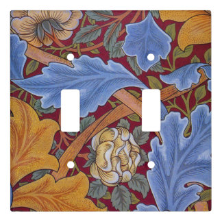 William Morris St. James Vintage Floral Design Light Switch Cover