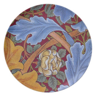 William Morris St. James Vintage Floral Design Plate