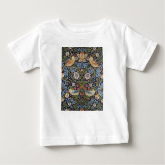 William Morris Strawberry Thief Design 1883 Baby T-Shirt