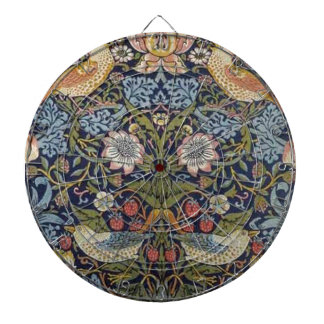 William Morris Strawberry Thief Design 1883 Dart Board