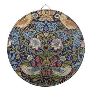 William Morris Strawberry Thief Design 1883 Dartboard