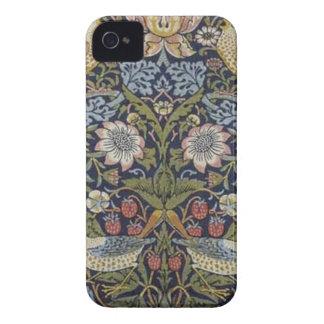 William Morris Strawberry Thief Design 1883 iPhone 4 Cover