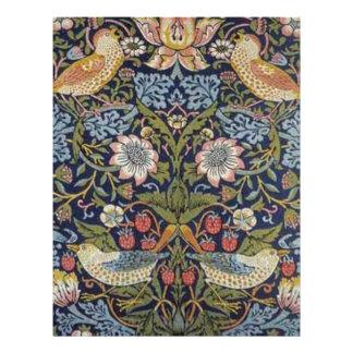 William Morris Strawberry Thief Design 1883 Letterhead