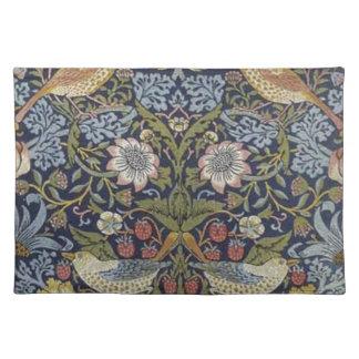William Morris Strawberry Thief Design 1883 Placemat