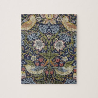 William Morris Strawberry Thief Design 1883 Puzzle