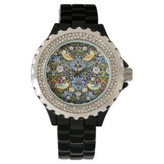 William Morris - Strawberry Thief pattern Watch