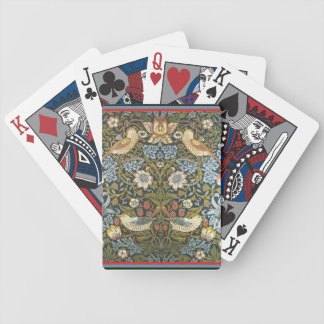 """William Morris """"Strawberry Thief"""" Playing Cards"""