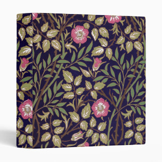 William Morris Sweet Briar Floral Art Nouveau Binders