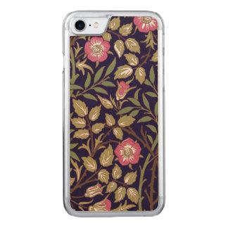 William Morris Sweet Briar Floral Art Nouveau Carved iPhone 8/7 Case