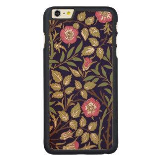 William Morris Sweet Briar Floral Art Nouveau Carved Maple iPhone 6 Plus Case