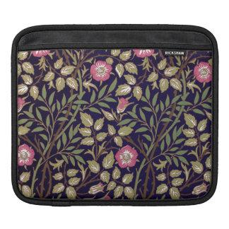 William Morris Sweet Briar Floral Art Nouveau iPad Sleeve