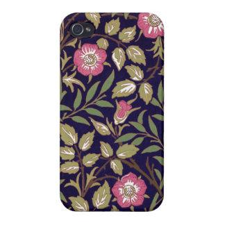 William Morris Sweet Briar Floral Art Nouveau iPhone 4 Case