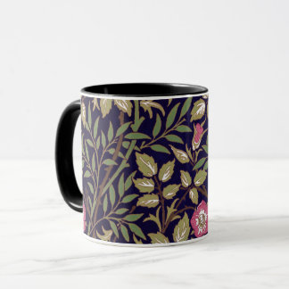 William Morris Sweet Briar Floral Art Nouveau Mug