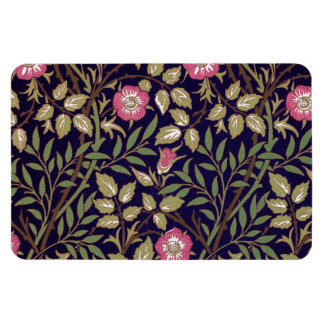 William Morris Sweet Briar Floral Art Nouveau Rectangular Photo Magnet