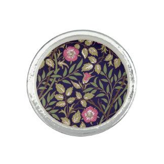 William Morris Sweet Briar Floral Art Nouveau Ring