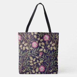 William Morris Sweet Briar Floral Art Nouveau Tote Bag