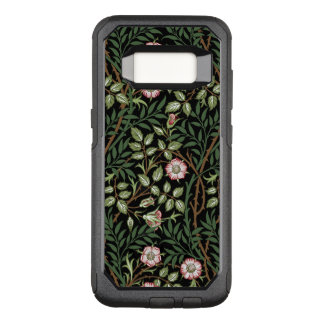 William Morris Sweet Briar Vintage Floral Pattern OtterBox Commuter Samsung Galaxy S8 Case