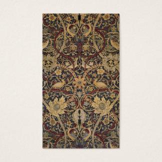 William Morris Textile  Bullerswood Business Card
