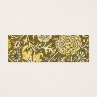William Morris The Cherwell Design For Velveteen Mini Business Card