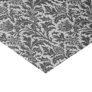 William Morris Thistle Damask, Silver Gray / Grey Tissue Paper
