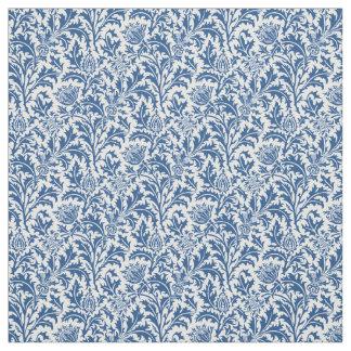 William Morris Thistle Pattern Custom Color Fabric