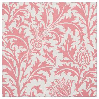 William Morris Thistle Pattern Peach Custom Color Fabric