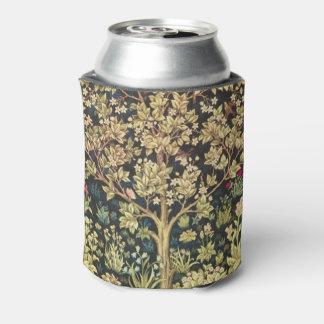 William Morris Tree Of Life Floral Vintage Art Can Cooler