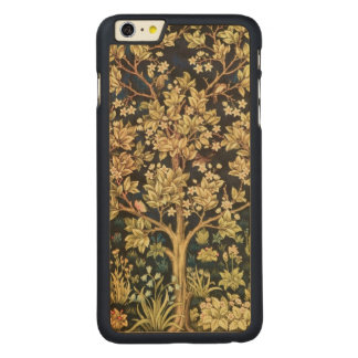 William Morris Tree Of Life Floral Vintage Art Carved Maple iPhone 6 Plus Case