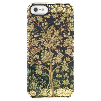 William Morris Tree Of Life Floral Vintage Art Clear iPhone SE/5/5s Case