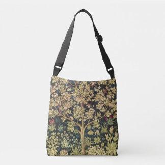 William Morris Tree Of Life Vintage Pre-Raphaelite Crossbody Bag
