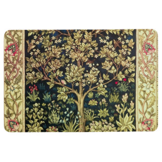 William Morris Tree Of Life Vintage Pre-Raphaelite Floor Mat