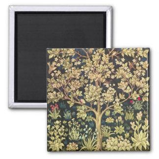 William Morris Tree Of Life Vintage Pre-Raphaelite Magnet