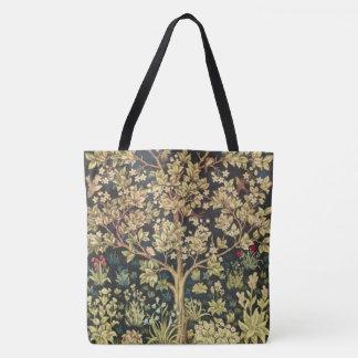 William Morris Tree Of Life Vintage Pre-Raphaelite Tote Bag