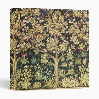 William Morris Tree Of Life Vintage Pre-Raphaelite Vinyl Binder