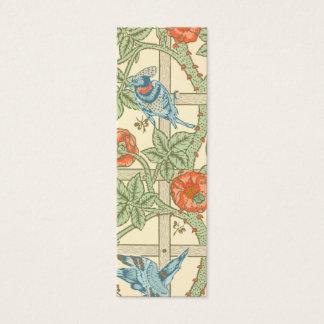 William Morris Trellis Pattern Mini Business Card