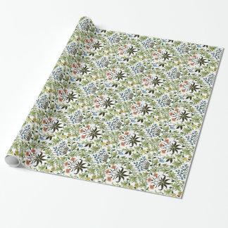 William Morris vintage design, Celadine Wrapping Paper