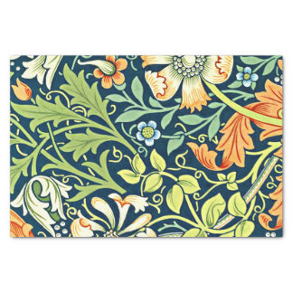 William Morris vintage floral pattern, Compton Tissue Paper