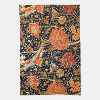 William Morris vintage pattern, Cray Kitchen Towels