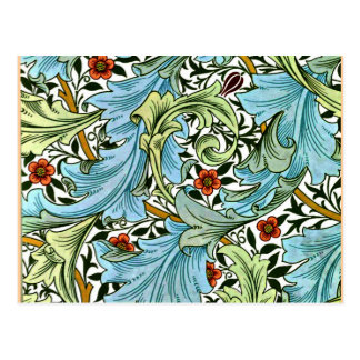 William Morris vintage pattern - Granville Postcard
