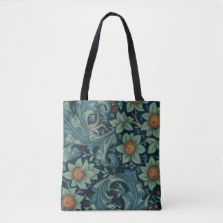 William Morris vintage pattern, Orchard Tote Bag