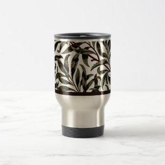 William Morris vintage pattern, Willow Bough Travel Mug
